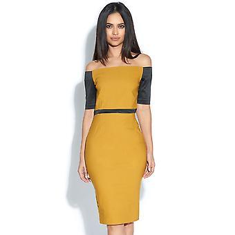 Berdine Bardot Midi Dress