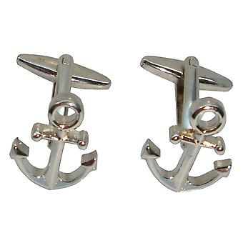 Bassin e ancoraggio marrone gemelli - argento