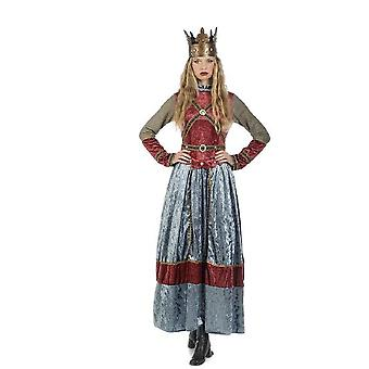 Medieval Queen Isabell maid Lady-in-waiting Hofherrin Castle Lady noblewoman Lady costume