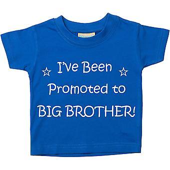 Yo he sido promovido a gran hermano azul Tshirt