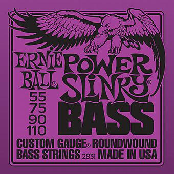 Ernie Ball Slinky Bass Strings Gauge-Power Slinky 55-110