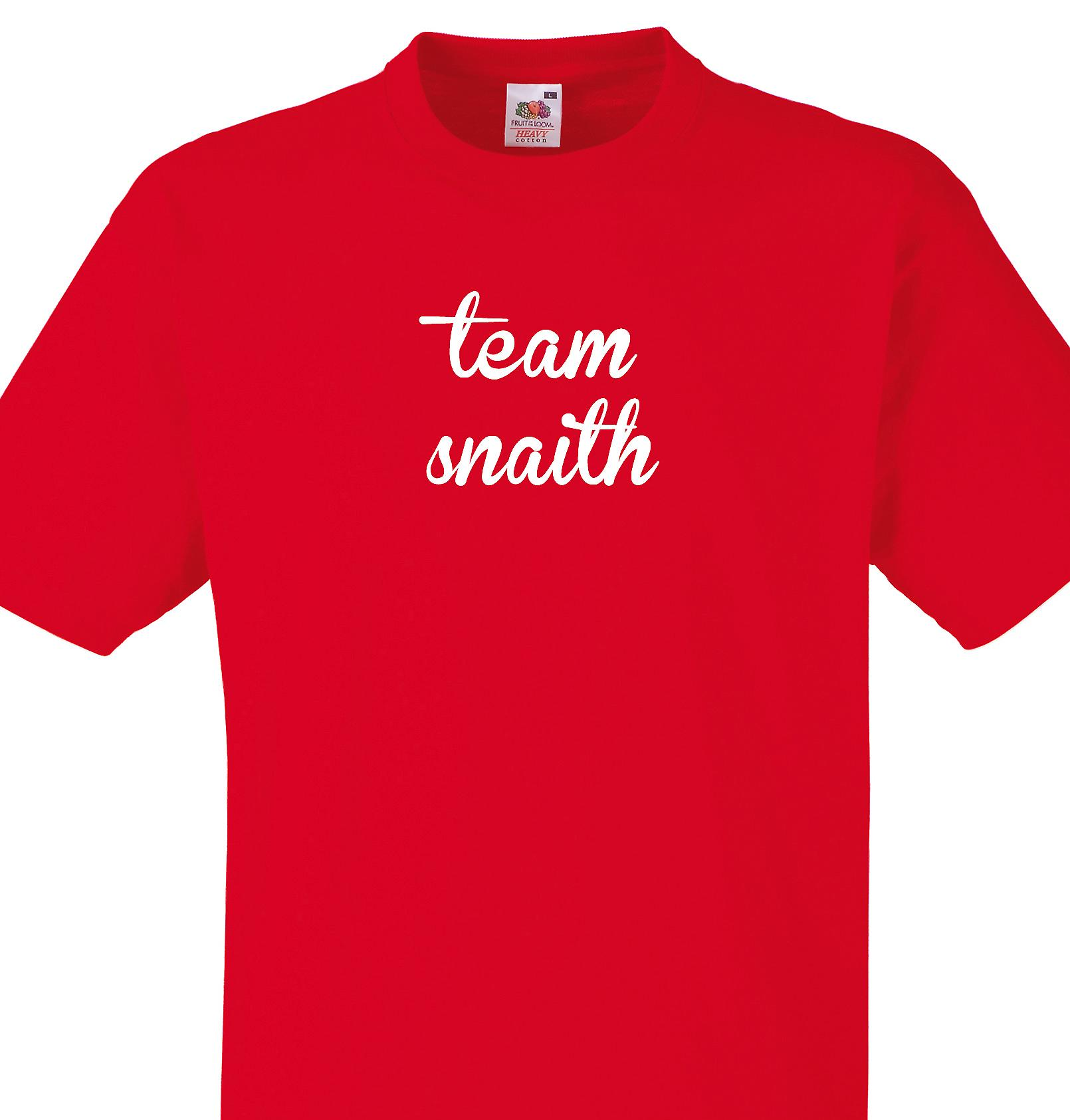 Team Snaith Red T shirt