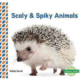 Animaux écailleux & hérissés (peaux d'animaux)