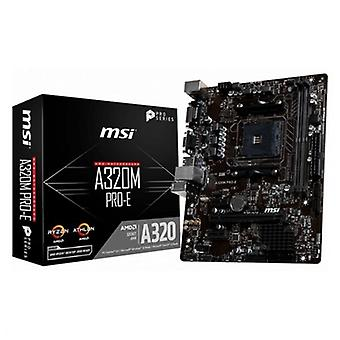 Karte Mutter MSI A320M PRO-E mATX AM4
