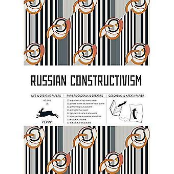 Russian Constructivism: Gift� & Creative Paper Book Vol. 76