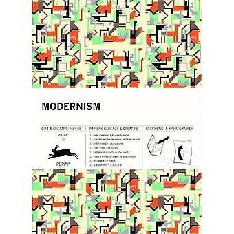 Modernism: Gift & Creative Paper Book: Vol. 70