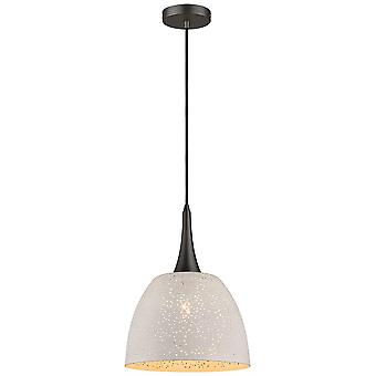 Spring Lighting - Cambridge White Deep Pendant  IPMC032XI1QFOE