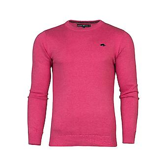 Crew Neck Cotton/Cashmere Sweater