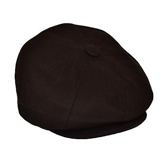 G&H Brown Wool Newsboy Cap 57cm