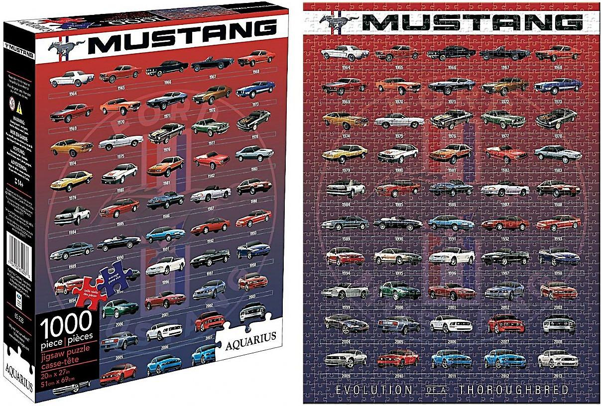 Ford Mustang Evolution 1000 piece jigsaw puzzle   (nm)