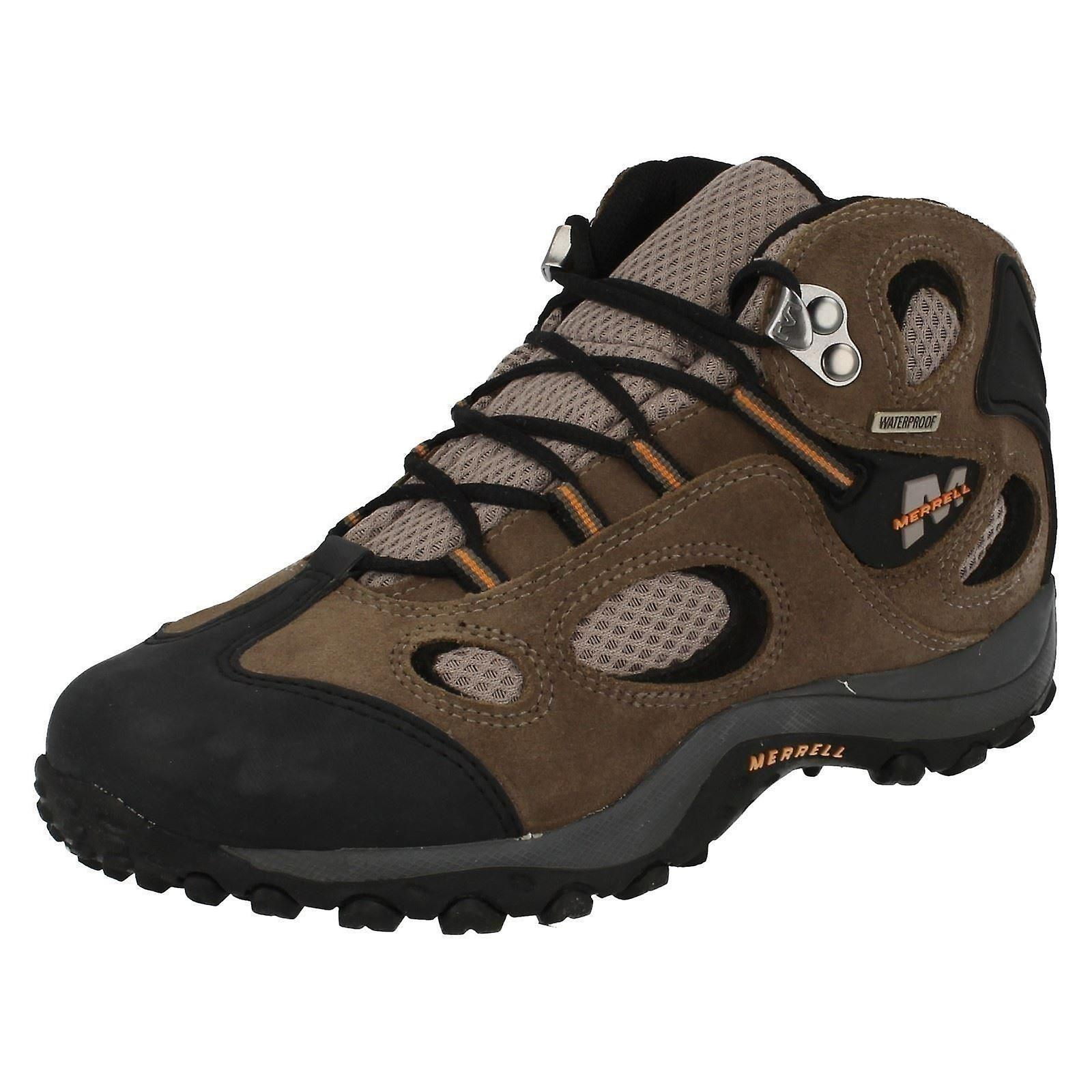 Garçons Merrell Waterproof bottines Chameleon Mid