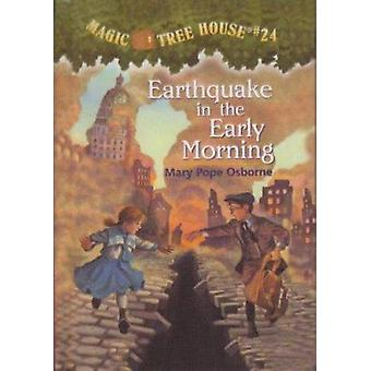 Earthquake in the Early Morning by Mary Pope Osborne - Salvatore Murd