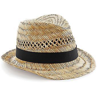 Beechfield - Straw Summer Trilby