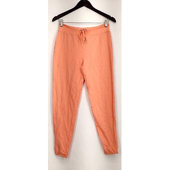 Xhilaration Lounge Pants Pull On Solid Pink Womens