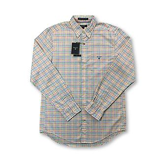Gant Bel Air pinpoint oxford regular shirt in ulti colour check