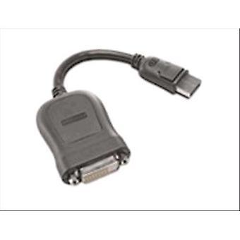 Lenovo micro dvi adapter male/female port display length 20cm black color