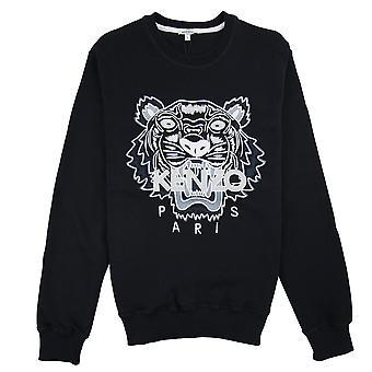 Kenzo Tiger Mono Chrome Sweatshirt Schwarz