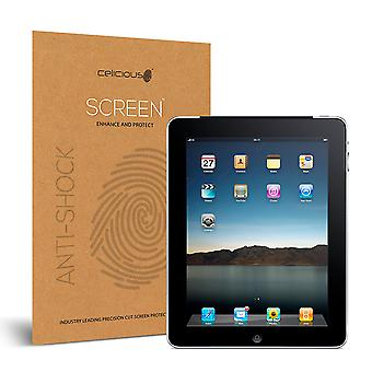 Celicious Impact Anti-Shock Shatterproof Screen Protector Film Compatible with Apple iPad