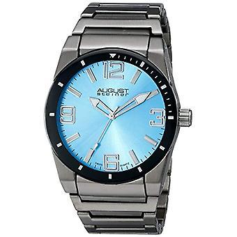 August Steiner AS8152BU wrist watch, stainless steel strap, grey