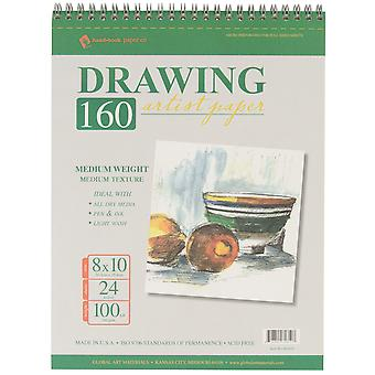 Drawing Pad 100# 24 Sheets Pkg 8