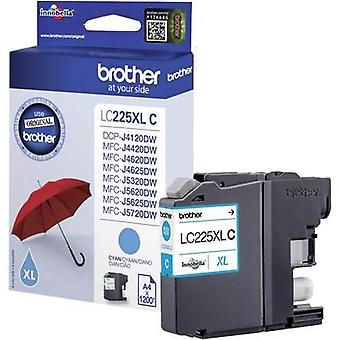 Brother Ink LC-225XLC opprinnelige Cyan LC225XLC
