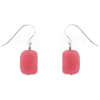 Lola Rose Fin Earrings Pink Grace Quartzite