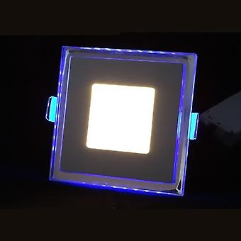 I LumoS LED 20 Watt Square Recessed Ceiling DownLight with Blue Light Pure White