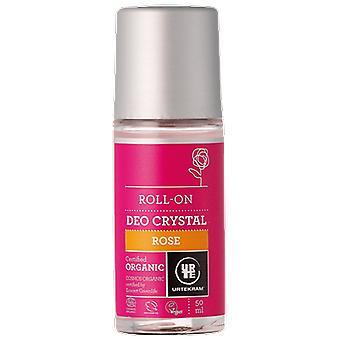 Urtekram Deodorant Roll On 50 Ml Bio Rosa (Woman , Cosmetics , Body Care , Deodorants)