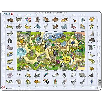 Larsen Learning Inglés Puzzle 5 (Toys , Boardgames , Puzzles)