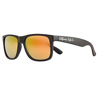 California Style Co Orange Classic Sunglasses Mirrored (Fashion accesories , Sun-glasses)
