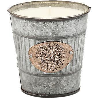 St Eval Candle Lavender Large Silver Potting Shed Candle