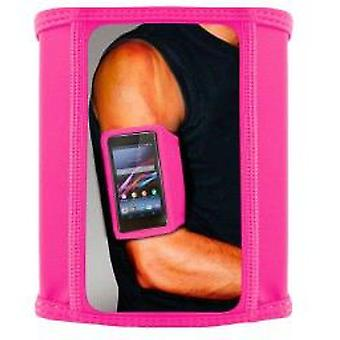 Ksix SportBand Lycra sleeve pink size L (Home , Electronics , Tablets , Accessories)