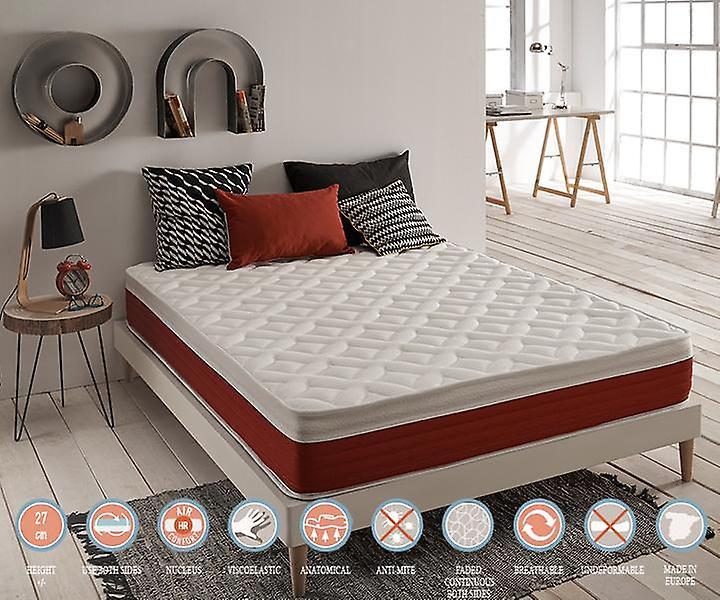 r cup rer les nergie de luxe visco lastique matelas 80 x 190 fruugo. Black Bedroom Furniture Sets. Home Design Ideas