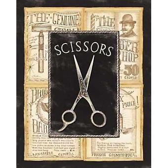Grooming Scissors Poster Print by Charlene Audrey
