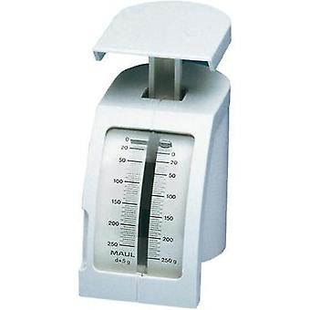 Spring scale Maul Feder-Briefwaage Weight range 250 g Readability 2 g White