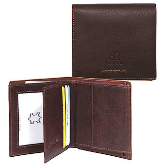 dR Amsterdam Billfold Icon Brown