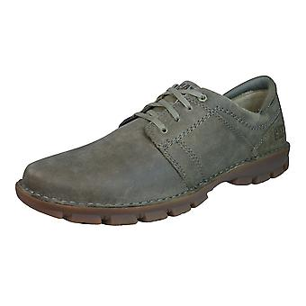 Caterpillar Caden Mens Leather Casual schoenen - bruin
