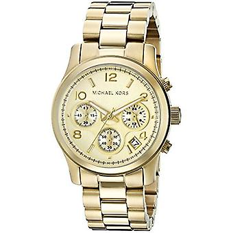 Michael Kors Midsized Chronograph gull Tone kvinners Watch MK5055