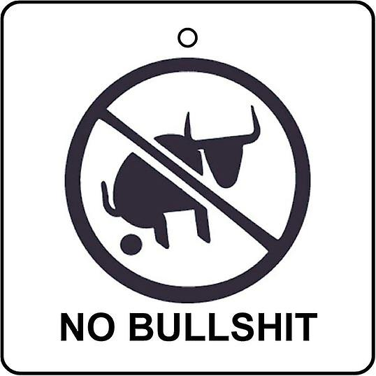 No Bull**** Car Air Freshener