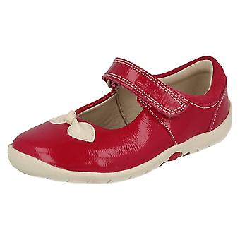 Girls Clarks Shoes with Bow Design Softly Bow
