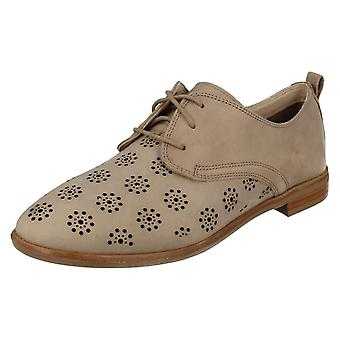 Ladies Clarks Lace Up Casual Shoes Alania Posey