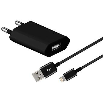 Goobay USB datos cable cargador enchufe iPod de IOS 10 Apple iPhone 6 5 5 S 5 C SE y mucho más.