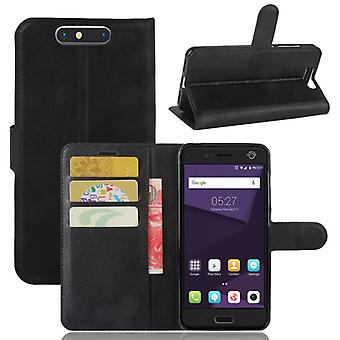 Pocket wallet premium black for ZTE blade V8 protection sleeve case cover pouch new