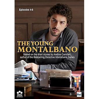 Unge Montalbano: Episoder 4-6 [DVD] USA importerer