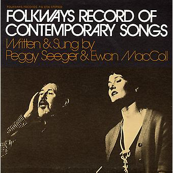Maccoll/Seeger - Folkways Record of Contemporary Songs [CD] USA import