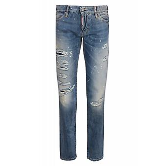 DSQUARED2 pants mens jeans Blau S30281
