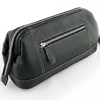 Sonnenschein Mens Toiletry Leather Bag