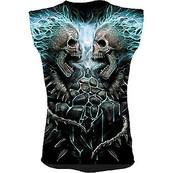Spiral - FLAMING SPINE - All Over Print Sleeveless Muscle Top .