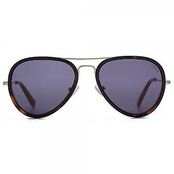 Hook LDN Supersonic Sunglasses In Tortoiseshell On Pink