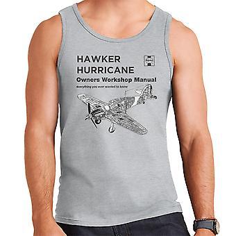 Haynes eigenaren Workshop handmatige Hawker Hurricane VW mannen Vest